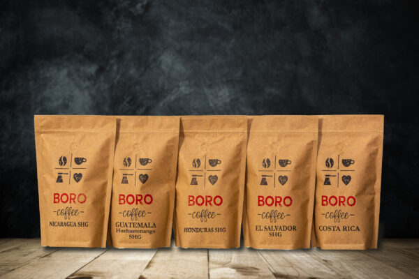 Közép-Amerika Összeállítás - BORO-Coffee